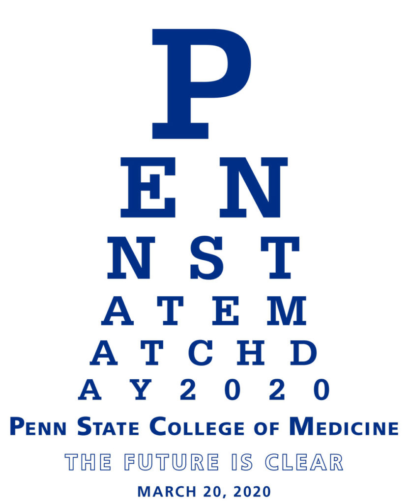 Penn State Match Day 2020 | Penn State College of Medicine | The Future is Clear | March 20, 2020